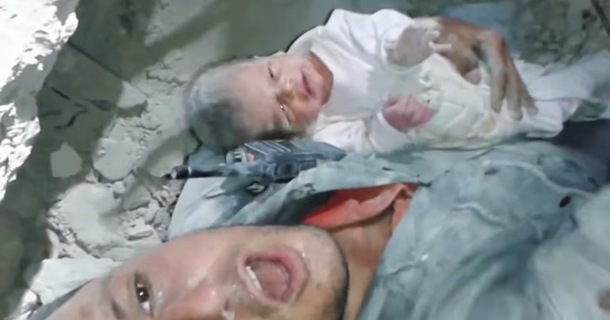 This Two-Week-Old Baby's Rescue Will Make You Truly Appreciate Life